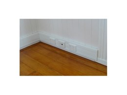 Skirtec Group offer 2 channel PVC skirting ducts
