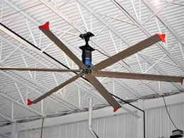SkyBlade HVLA ceiling fans cutting costs on heating and cooling