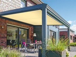 Sleek, stylish and very practical – the markilux 889 underglass awning