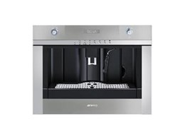 Smeg CMSC45 Linear coffee machines available from Omega Appliances