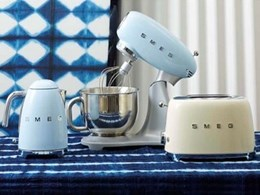 Smeg new Italian-designed small appliances enhance retro range