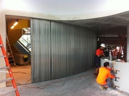 Smoke Control installs fire shutters at Royal Randwick Racecourse
