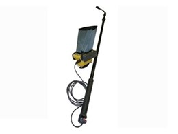 SnakeEye III camera poles available from Inline Systems for remote visual inspection applications