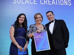 Solace Creations wins Telstra Micro Business Award