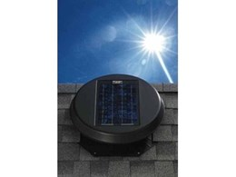 Solar Star roof fans from Solatube Australia for efficient roof ventilation