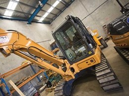Solution Plant Hire Sydney relies on CASE Construction Equipment