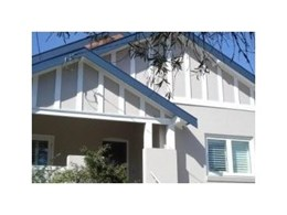 Sound Barrier soundproof double glazed windows and doors fitted in 1920s Californian Bungalow