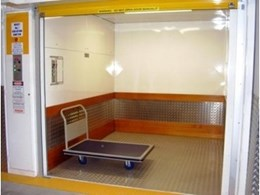 Southwell Lifts and Hoists aesthetically finish interiors of their lift cars