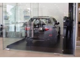 Southwell Lifts and Hoists install vehicle hoists in BMW showroom, Adelaide