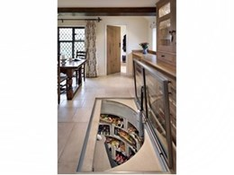 Spiral Cellars' built-in wine cellar doubles as larder