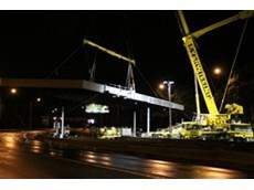 Spreader beam hire from Kennards Lift & Shift pays off for toll booth removal
