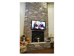 Stacked Ledgestone cladding for fireplaces by CraftStone Australia