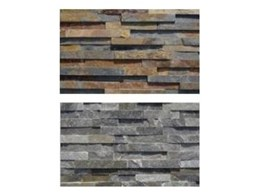 Stackstone feature wall tiling available from Connollys Timber & Flooring