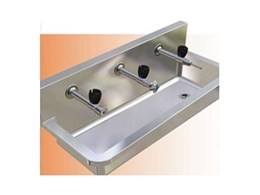 Stainless Steel Drinking Troughs for Schools by Britex
