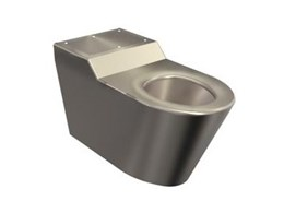 Stainless steel toilets from Stoddart Australia