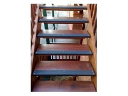 Stair nosings for residential, commercial and industrial applications available from Grip Guard Non Slip