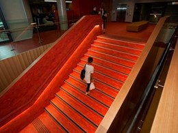 Stair nosings from Spectrum Floors used at new UniSA $80 million building