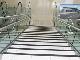 Stairtile code compliant stair nosing for external and internal use