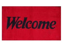 Standard welcome mats from General Mat Company