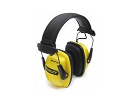 Stanley Sync stereo earmuffs available from Honeywell Safety Products