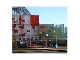 Steel framing from FrameCAD Solutions selected for new Greenhouse waste free cafe in Sydney