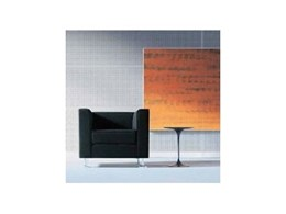 Stillwall wall system - Modular sound absorbent panels with aluminium bars