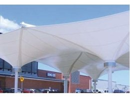 Streetlife Streetscape Modular shade structures available from Viva Sunscreens