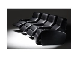 Stretch Recliner Home Theatre Seating from SofaWorks