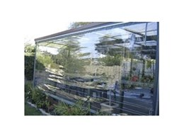 Structureflex Pacific offers clear blinds for outdoor protection from wind and rain