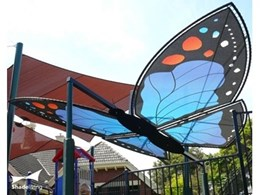 Structureflex design and fabricate unique shade structures for Port Phillip Special School