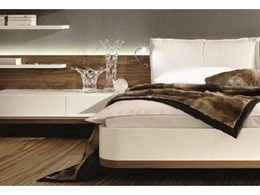 Style and function combine in the MIOLETTO bedroom set from Transforma