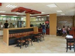 Subway food chain uses Austech Building Products' CraftStone for feature wall