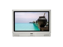 SunBrite weatherproof outdoor LCD TV available from Herma Technologies