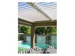 Sunlite Australia install louvred Weathershade at Palazzo Homes