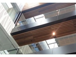 Supawood Architectural Lining Systems introduces Supatile Roofing Slatted Panels