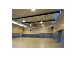Supawood's Panel Lining Kit enhances ACT school hall interior