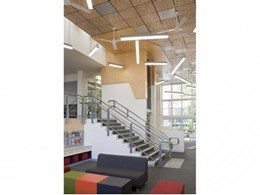 Supawood's Supatile DIT ceiling tiles meet functional and budget goals at Queensland school