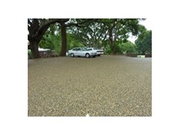 SuperStone decorative paving from MPS Paving Systems Australia used to create permeable car park for Wesley College