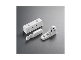 Support cabinet catches for bi-fold corner units from Corna Hardware