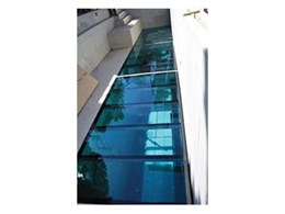 Swimming pool glass floor from Dimension One Glass Fencing
