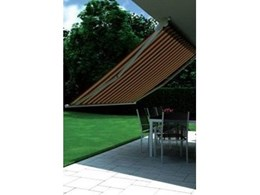 Swing Classic folding arm open style awnings from Markilux Australia