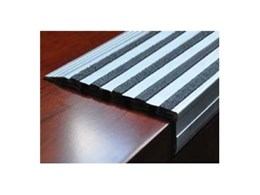 TSA Crystal Line stair nosings available from Tactile Systems Australia