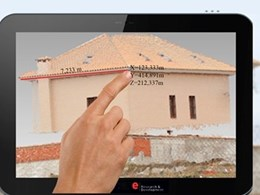 Tablet with embedded 3D scanner for accurate measurements