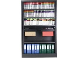 Tambour Storage Cupboards from SK Office Furniture Sydney