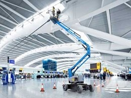 Terex releases a new Genie lift  to improve efficiency in airports, theatres and shopping centres