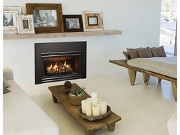 The 131 gas inbuilt fireplace from Regency Fireplace Products