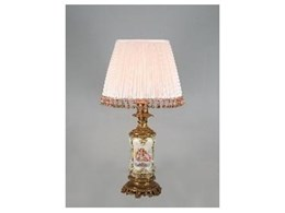The Antique & Vintage Table Lamp Co to make lampshades for David Jones Interior Decorator Service