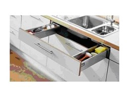 The Blum Sink Pull Out system from Blum Australia