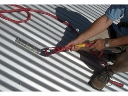 The Corrugator permanent fall arrest anchor  from Super Anchor Safety for single person use