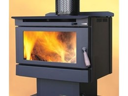 The Opal Series 2 freestanding wood heater now available from Eureka Heating
